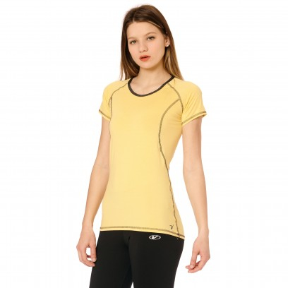 Remera Regular Micro Van Amarillo