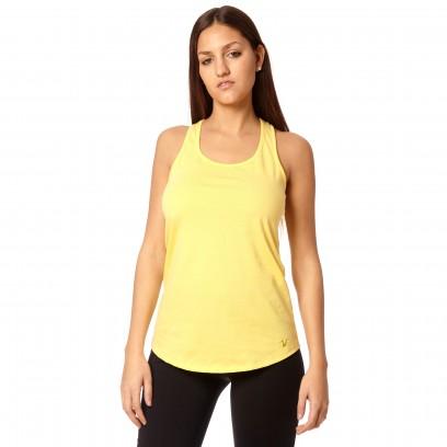 Musculosa regular Basic Amarillo