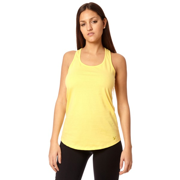 Musculosa regular Basic Amarillo